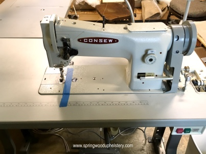 Industrial Walking Foot Sewing Machine - Consew 206RB-5
