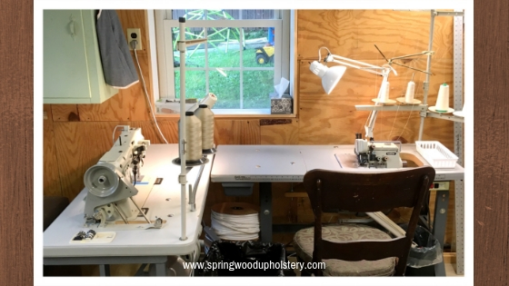 Sewing Machines in my workroom.